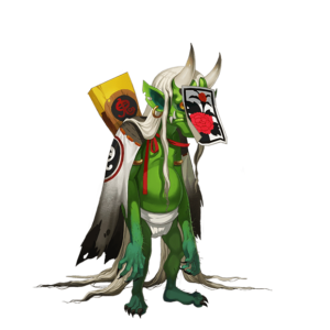 Onmyoji Mobile Game - Shikigami Green Imp