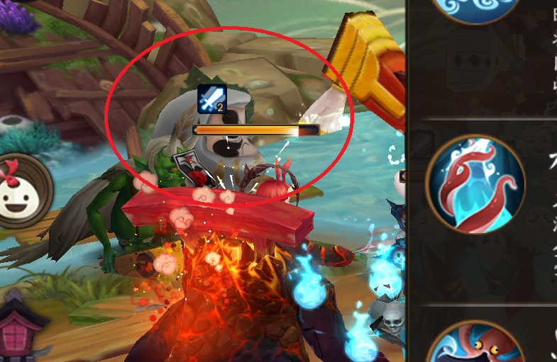 Status Effect Icon in Onmyoji Battle